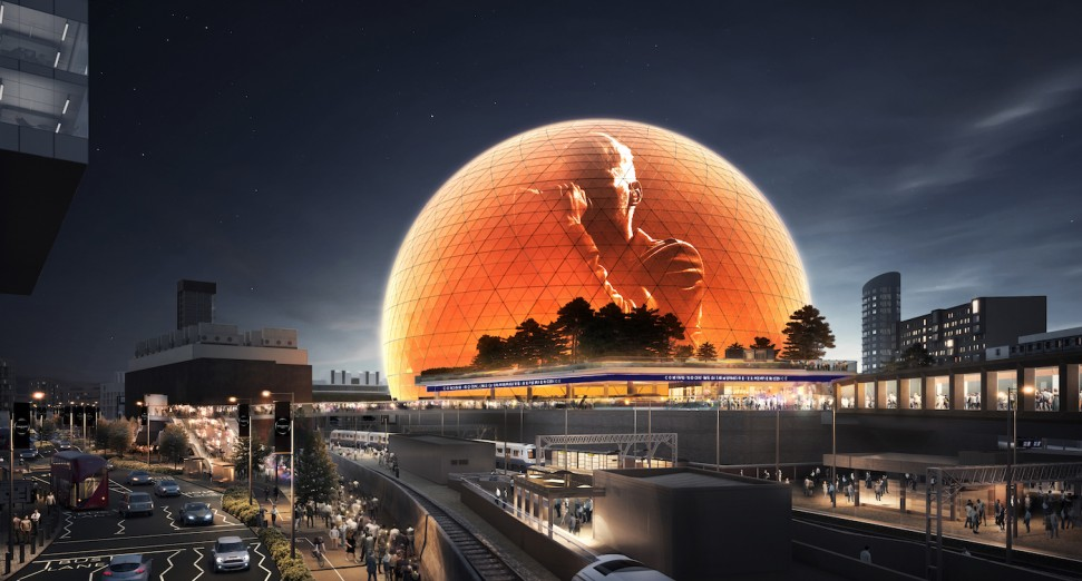 Plans submitted for the UK's largest concert arena